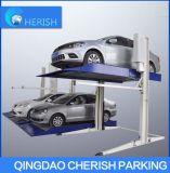 Система подъема стоянкы автомобилей Commecial столба стоянкы автомобилей & хранения 2 автомобиля