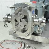 Pompe rotatoire sanitaire personnalisée industrielle de lobe d'acier inoxydable