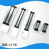 Fechamento magnético elétrico de porta individual 280kgs com força de retenção magnética
