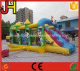 Комбинированное горячего сбывания раздувное, раздувное скольжение замока, раздувной отскакивая замок для малышей