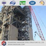 Construction industrielle élevée de structure métallique