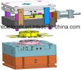Estrutura de matriz de três placas, molde de fundição sob pressão para ventilador de sudário (mecânico e elétrico)