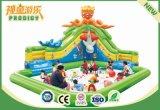 Castillo animoso del deporte inflable al aire libre de la diversión para el juguete de los cabritos