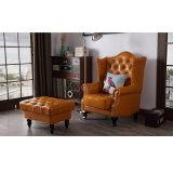 Sedia a sdraio in pelle stile americano stile soggiorno e camera da letto