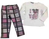 スクエア17107子供のパジャマの赤ん坊の羊毛Sutis