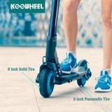 Koowheel ha brevettato il bambino adolescente del motorino di modello di scossa che piega il motorino elettrico con la batteria di Samsung
