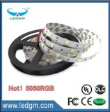 2017 5m / roll SMD 5050 3528 2835 RGB LED tira flexible Light Tape Kit completo 300LEDs 60LEDs / M con 44keys IR Controlador remoto