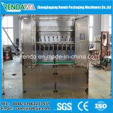 Máquina de enchimento de óleo de cozinha de nível linear de alta eficiência SUS304 e 316