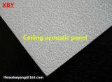 Techo acústico blanco de la decoración del panel de pared del panel acústico de la planta del panel de techo