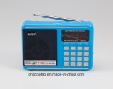 Usine de gros 2 AM/FM portable Band Digital Radio USB Lecteur MP3