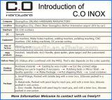 Conetor da câmara de ar/cotovelo ajustáveis (CO-3525)
