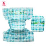Pañal adulto perfecto impreso promoción caliente del bebé de la humedad del bloqueo