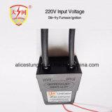 Entrada de información de la ignición 220V del gas de la cocina