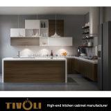 食料貯蔵室Tivo-0265hにラッカーを塗る光沢のある白の新しいDesginerの台所単位
