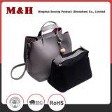 Form-eingebaute Paket-Schultergurt PU-lederne Handtaschen mit Troddel