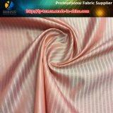 Rosafarbenes/weißes Streifen-Gewebe für Futter der Frauen-Klagen