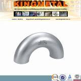"""ASTM A403のWp347 6 """"管付属品の短い半径の肘"""