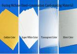 Inkjeting Impresión PVC Coated Overlay para Hacer Tarjetas de plástico