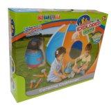 Kind-Schauspielhaus-kampierendes Zelt-gesetztes Spielzeug