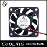 60mm 60X60X15 6015 12V 24V kleine Minikühlvorrichtung 12V des Gleichstrom-schwanzlose abkühlende axiale Ventilator-5V (CLD6015S (B) 12H)