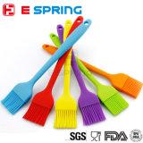 Ustensile de cuisine coloré en silicone Brosse en silicone