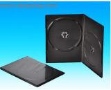 Casella 7mm lungamente doppio Rectange nero (YP-D806H) di caso DVD del coperchio DVD di DVD