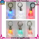전구 열쇠 고리를 위한 무지개 색깔을%s 가진 LED 열쇠 고리