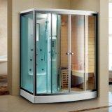 Infrared van de Zaal van de Stoom van de Zaal van de sauna met de Functie van de Douche, Stevig Houten en AcrylMateriaal