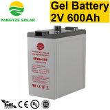 10 van het Leven 12V 48V 600ah van de Diepe jaar Batterij van de Cyclus Zonne