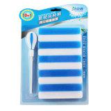 La melamina, Pincel de esponja o cepillo de taza de lavado