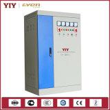Однофазный и трехфазный полноавтоматический компенсированный стабилизатор напряжения тока (SBW)