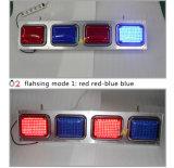 Мигающего огня безопасности супер яркой станции политики автомобиля политики красное голубое