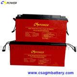 batterie profonde solaire de gel du cycle 6V420ah pour la mémoire de pouvoir