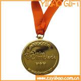 Druckguss-Decklack-Goldmedaille mit Drucken-Farbband (YB-MD-66)