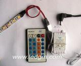 12V/24V 5050 flexibler RGB LED Streifen mit IR-Station-Controller
