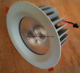 LEIDENE Schijnwerper en Verslaande Lichte 4 Duim leiden van 30 die Watts onderaan Licht in China wordt gemaakt
