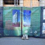 Водоустойчивые рекламируя знамена сетки графиков загородки ветра упорные напечатанные