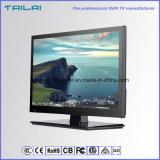 까만 가득 차있는 HD LED 역광선 텔레비전 200CD/M2 광도 16:9