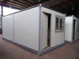 プレハブの軽い鋼鉄携帯用家、20FTの容器の家はまたはシステムをたたく