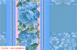 新しいデザインNonwoven裏付けが付いている安いPVC多彩な印刷されたパターンテーブルクロス