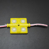 4LED SMD5630 de color amarillo del módulo de inyección de 36*36 Módulo LED impermeable