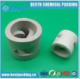 Anello di ceramica eccellente della cappa di resistenza termica e di resistenza acida per l'imballaggio della torretta