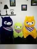 크리스마스 장난감 /Stuffed 장난감 알파카, 견면 벨벳 알파카 장난감, 연약한 알파카 장난감