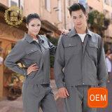 Формы сбывание механика OEM серые используемые, формы Workwear Coveralls работы мытья автомобиля