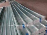 La fibre de verre ondulée de panneau de FRP/toiture transparente en verre de fibre lambrisse W171022
