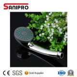 Sanipro cromo de alta calidad de cabezal de ducha de mano