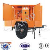 Macchina utilizzata mobile di trattamento dell'olio del trasformatore