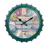 Reloj de pared promocional de moda del estilo único colorido del marco