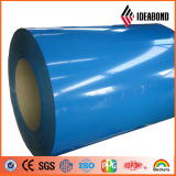 Haute brillance bobine en aluminium à revêtement de couleur (Polyester enduit)