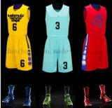 Basquetebol uniforme Jersey da equipe do treinamento do OEM para a promoção